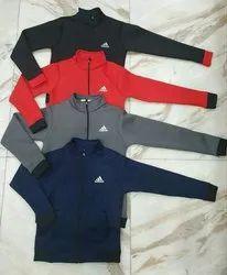 Men Multicolor Adidas Upper Jacket, Rs