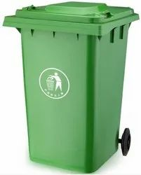 120 Ltr Wheel Garbage Dustbin Waste Trash Bucket Dustbin With Lid And Strong Wheels