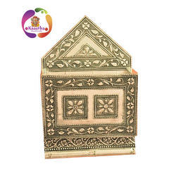 Kaastha Designer Wall Hanging Wooden Letter Holder