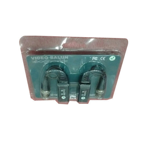 Video Balun Coaxial Cable, Packaging Type: Plastic, Box, 200-240, V