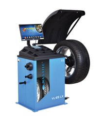 Video Graphic Wheel Balancer