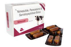 Nimesulide Paracetamol Serratiopeptidase Bolus