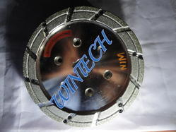 Diamond Brake Shoe Chamfering Wheel