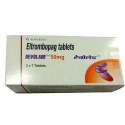 Revolade 50 Mg Eltrombopag Tablets, Packaging Size: 2x7 Tablets