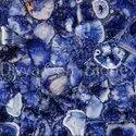Crystal Blue Agate Slab