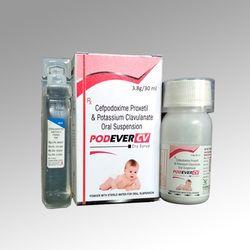 Cefpodoxime Proxetil and Potassium Clavulanate Oral Suspension