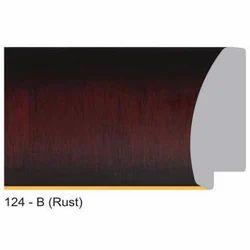 124-B Series Rust Photo Frame Moldings