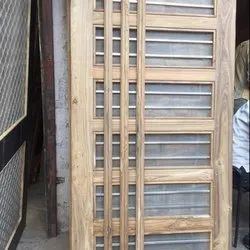 Teak Wood Net Doors