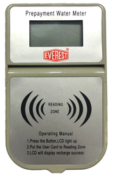 Everest Brass Pre Paid Water Meter, Line Size: 15 Mm, Confirming To Is 77994