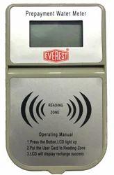 Everest Digital Prepayment Water Meter, Line Size: 15 Mm, Is 77994
