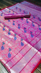 Designer Banarsi Silk Saree
