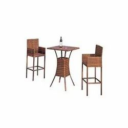 Universal Furniture Balcony Table with 2 Chairs