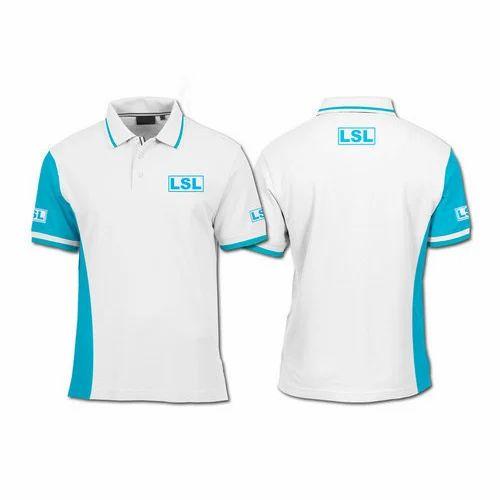 e948d4e10 White And Sky Blue Mens Printed Sublimation T-Shirt, Rs 350 /piece ...