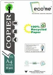 Eco Friendly Unbleached 100% Recycled Copier Paper