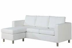 White Leather Sofa LTHSO-018