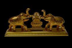 Elephant Kumkum With Lakshmi Stand