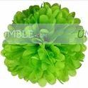 18th Birthday Theme Lime Green Paper Pom Pom