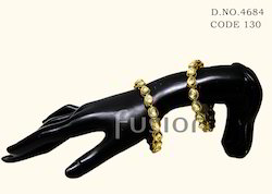 Antique Ethnic Kundan Bangle