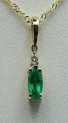 Natural Emerald Pendant Panna
