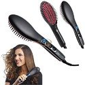 Hair Straightener Brush Simply Artifact Ceramic (906B)