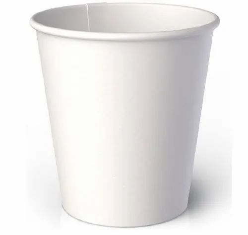 White 200 ML Plain Paper Cup, Features: Disposable