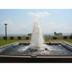 Aerating Jet Fountain