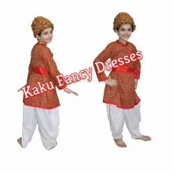 Rajasthani Boy Red Dress