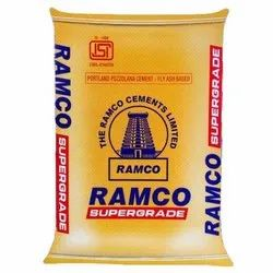 PPC (Pozzolana Portland Cement) Ramco Cement, Packaging Type: HDPE Sack Bag, Cement Grade: General High Grade