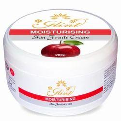 Private labeling Glint Moisturizing Skin Fruit Cream, Packaging Size: 200 Gm, Packaging Type: Cream Jar