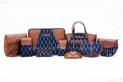 Ikat & Genuine Leather Bags
