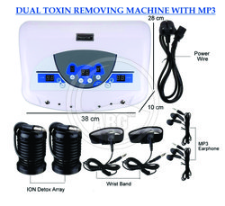 Dual Detox MP3 Foot Spa Machine