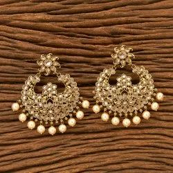 Chand Earring with Mehndi Plating 200546