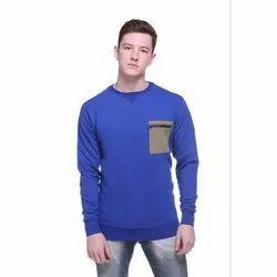 Men Daily Wear Round Neck T-Shirt