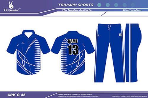 5cfe2c740a9d6 Triumph OEM Cricket Apparel, Rs 850 /set(s), Triumph Sportswear ...