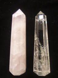 Shiva Shakti Crystal Wand