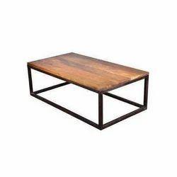 Modern Rectangular Wooden Center Table