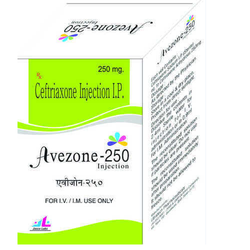 Ceftriaxone - 250 Mg Injection