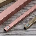 Stainless Steel Antique Copper And Brass Finish Decorative Profiles