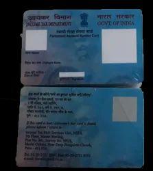 Pre-Printed PVC Pan Card