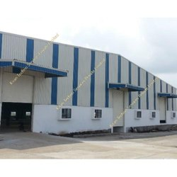 Steel Frame Structures Industrial Projects Warehouse, For Warehouses, Fire-Fighting System
