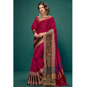 Duskin Beige Color Saree