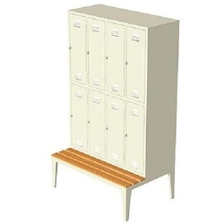 Locker with 8 Compartment