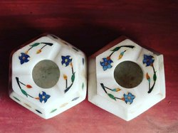 White Traditional Marble Handicraft, For Decoration