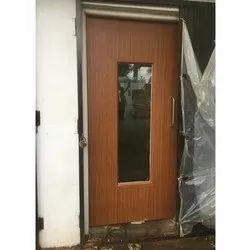 ABR Enterprise Metal Wooden Glass Fire Resistance Door