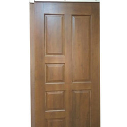 Powder Coated Decorative Wooden Door, Thickness: 25 To 30 Mm