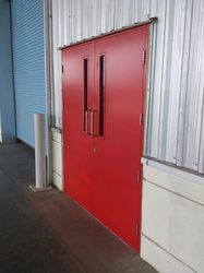 Mild Steel Fire Resistant Door