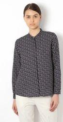 100% Cotton Van Heusen Navy Shirt VWSF317D03621