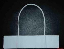 Paper Rope Handle - White