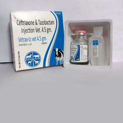 Ceftriaxone 4gm Tazobactam 500gm Injection