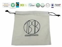 Bio Cotton Pouch Bag